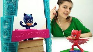 Герои в масках! Видео для детей. Ищем #ГЕККО (игрушка Герои в масках). #ToyClub - ищем игрушки