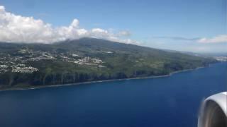 Landing at Reunion Island *** Atterrissage à l