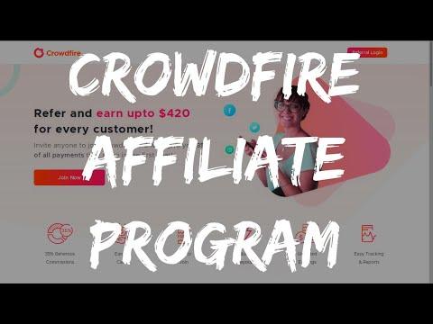 CROWDFIRE APP AFFILIATE PROGRAM 💸 $420 CUSTOMER