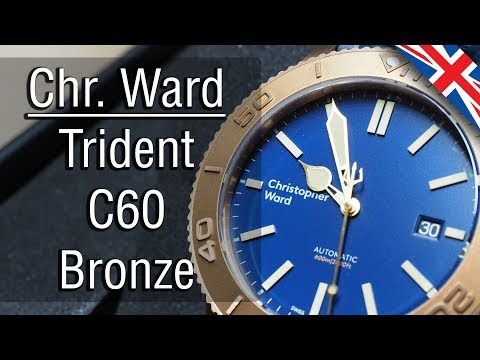 Christopher Ward Trident C60 Bronze unboxing and  English version