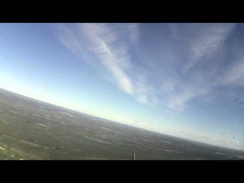 Взлет самолета с аэродрома Североморск-1