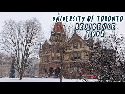 University of Toronto Victoria College Dorm Tour