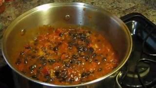 Black Bean Chili With Ground Turkey And Italian Sausage