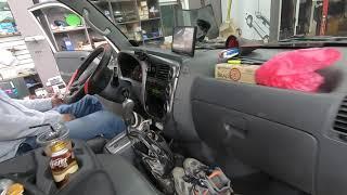 봉고3 트럭에 후진시 자동비상등 후깜, 오토라이트 옵션…