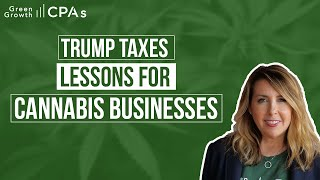 Trump Taxes: Lessons to Reduce Cannabis Business Taxes