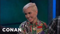 Noomi Rapace's Filthy Favorite Song  - CONAN on TBS