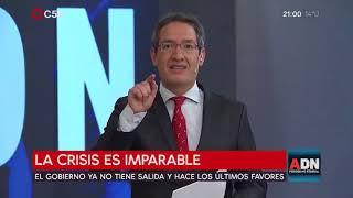 Tomás Méndez - ADN 2/09/2018 -  La crisis es imparable