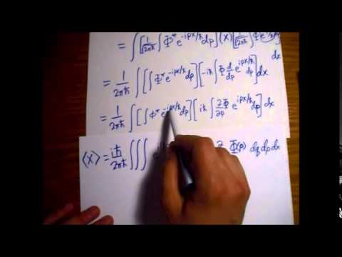 Griffiths Quantum Mechanics Problem 3.12: Expectation Value of Position in Momentum Space
