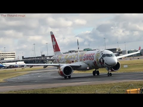 Plane Spotting At Manchester Airport   30.03.2018