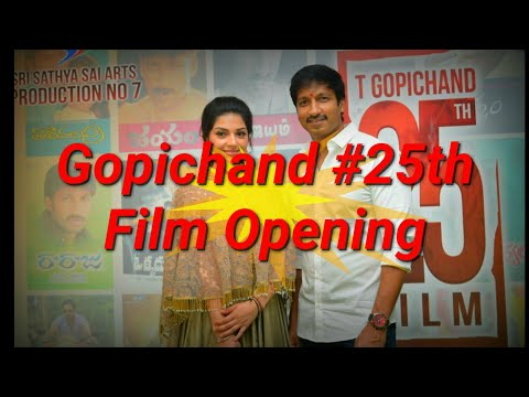 Hero Gopichand #25th Film Opening || Tv8