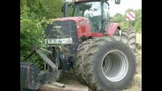 wypadki przy pracy 04 maszyny rolnicze, ciagniki, zakopane, spalone