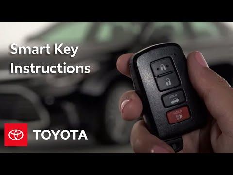 Toyota How-To: Smart Key | Toyota