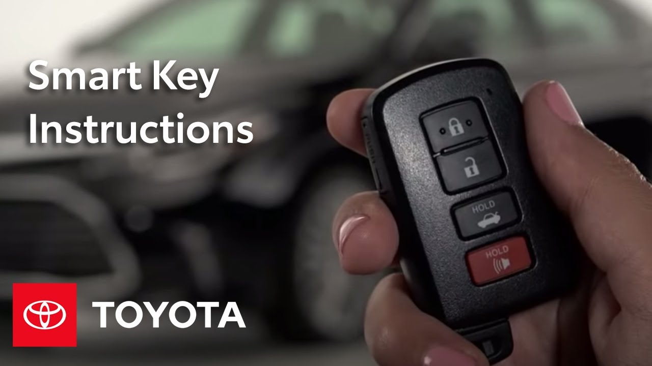 How To Start Your Car When Toyota Smart Key Doesn't Work