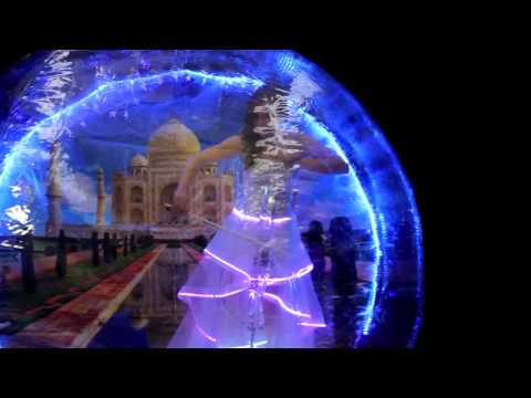 LED bubble: Bollywood LED cello/cellist. Hindi/Indian instrumentals