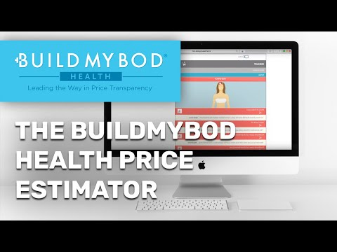 The BuildMyBod Health Price Estimator on the ASAPS Website