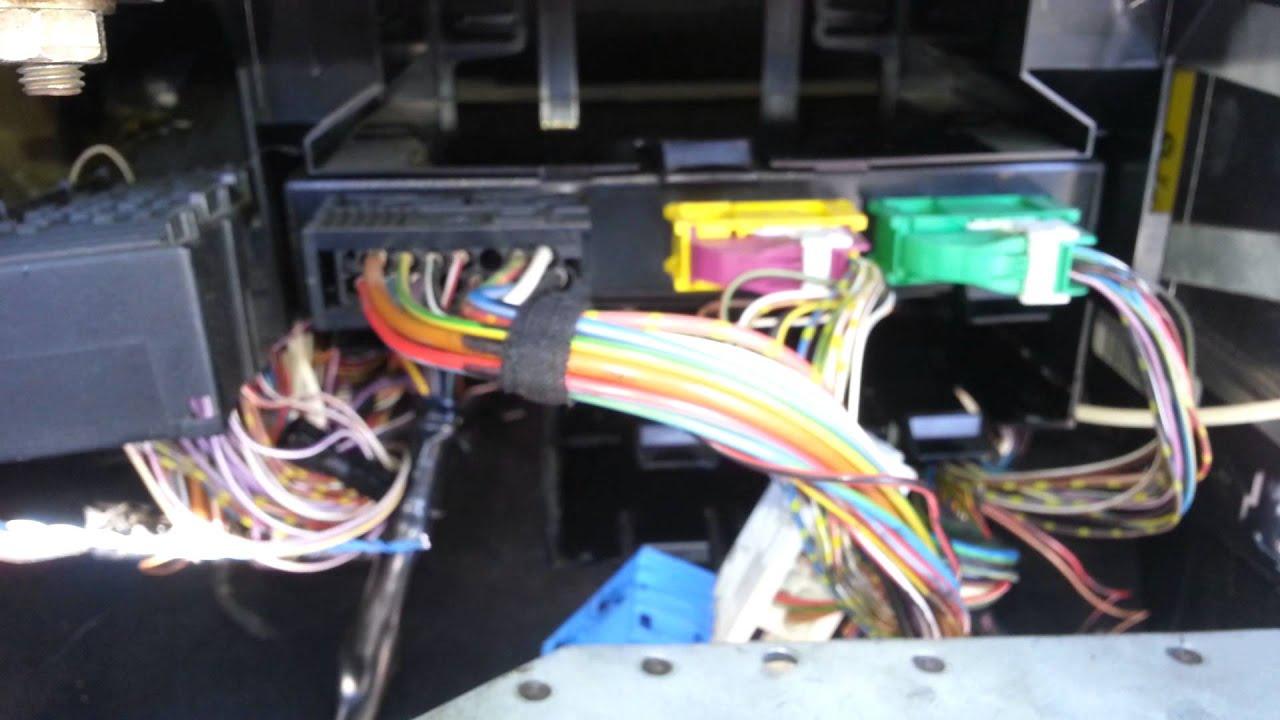 BMW E36 M3 EWS GM DSC ASC Module Location Glove Box  YouTube