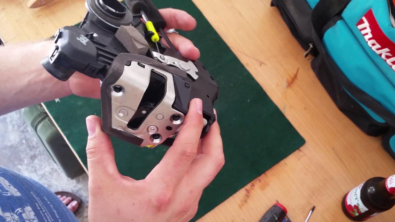 Lexus Gx470 Door Lock Actuator Motor Replacement Youtube
