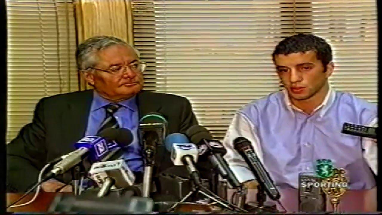 Simão Sabrosa no Barcelona, a maior transferência de sempre em 03/05/1999