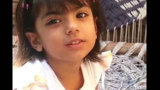 Desi little girl mimicry Animals!