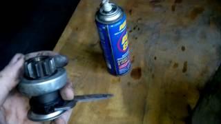 видео Как заменить правильно бендикс ВАЗ 2109?