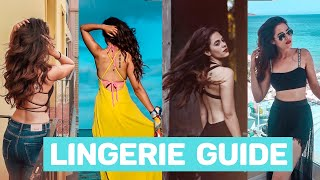 LINGERIE GUIDE | What Lingerie Do I Wear Inside My Outfits + GIVEAWAY