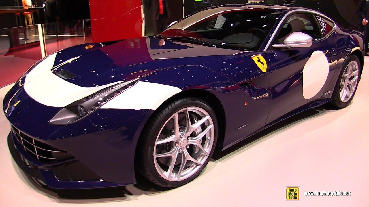2017 ferrari f12 berlinetta 70th anniv the stirling walkaround 2016 paris motor show youtube