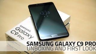 Samsung galaxy c9 pro unboxing