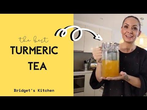 How To Make Turmeric Tea    Immunity & Anti-Inflammatory Boost    Healthy + Delicious