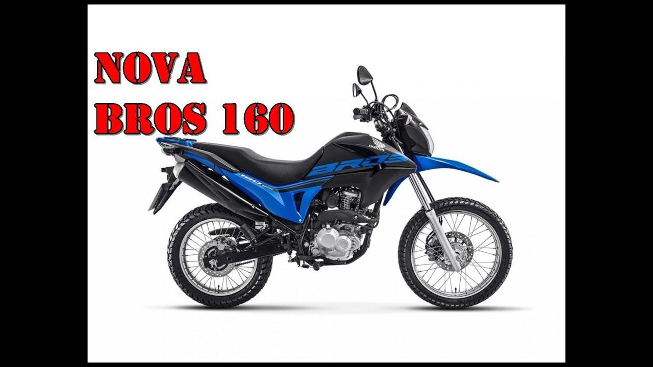 Nova Honda Bros 160 Esdd 2018 Youtube