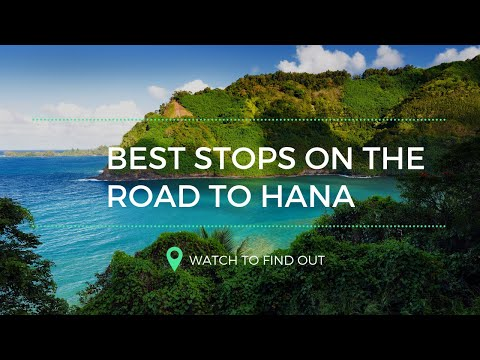 Road to Hana, Maui with GyPSy Guide Audio Driving Tour App