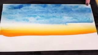 Maryellen Minute # 5 Landscape Artistic Stretchies