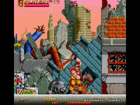 Arcade Longplay [327] Crude Buster