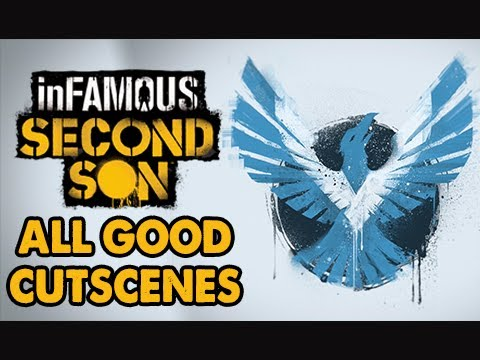 infamous second son gameplay walkthrough movie all