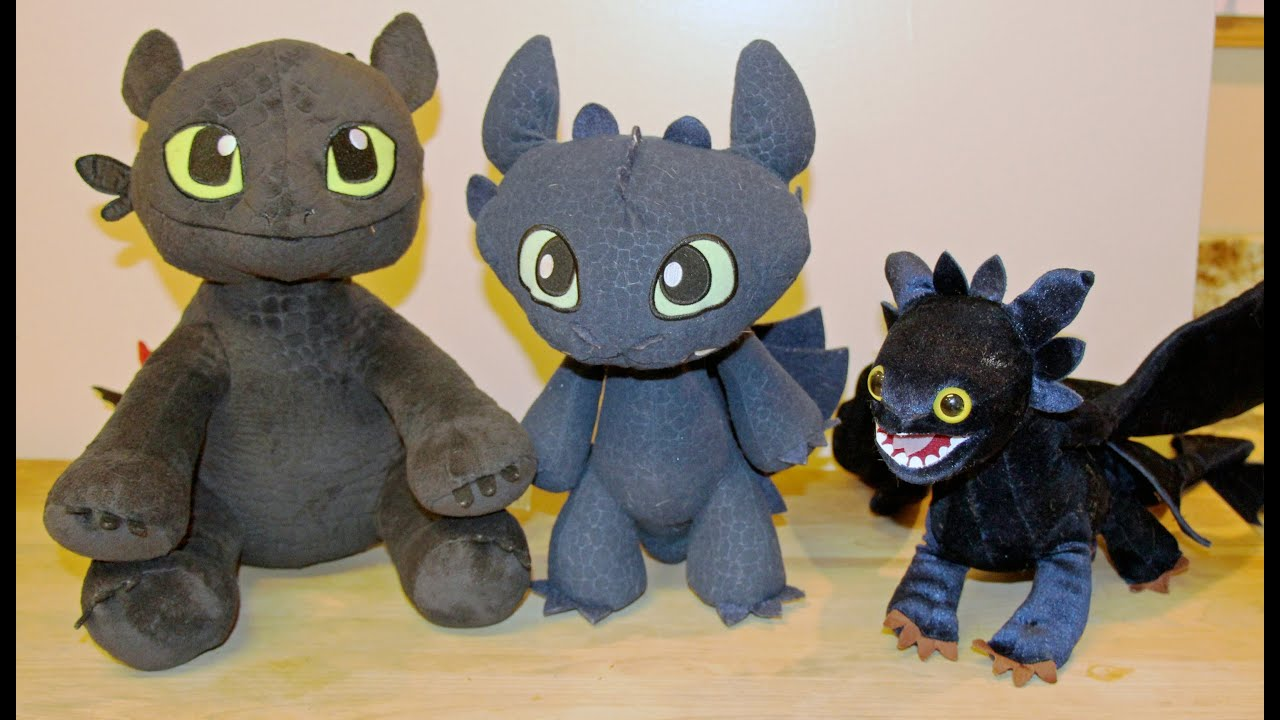 Build A Bear How To Train Your Dragon