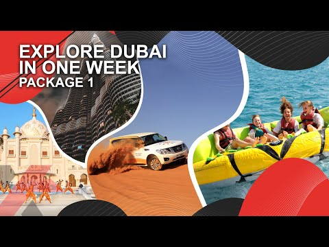 Combo package for best Dubai Tour packages – cheapest Dubai holiday packages