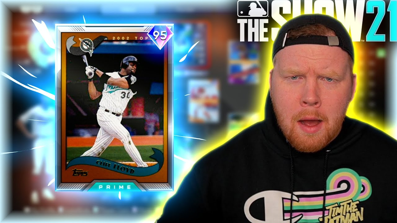 I Pulled *95* Cliff Floyd Out Of A Headliner Pack! | MLB The Show 21 Diamond Dynasty