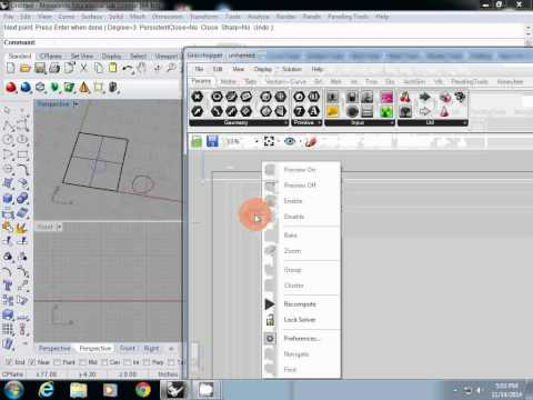 Daylight/Shading Device Tutorial: Grasshopper | ARC 563 Lighting and