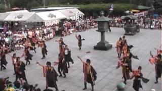 西新井大師よさこいフェスタ2009より、朝霞なるこ人魚姫 の演舞.