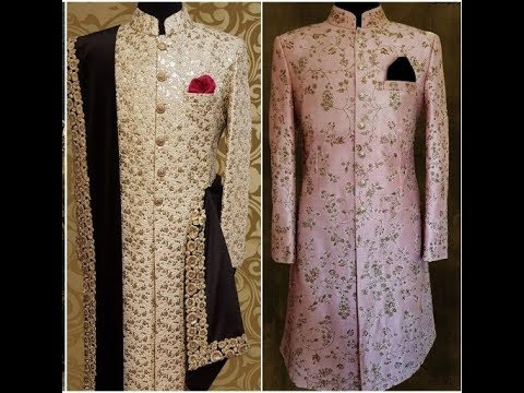 Wedding Sherwani | Indian Wedding dress for groom | Dulha sherwani | Latest sherwani 2019 | Trending