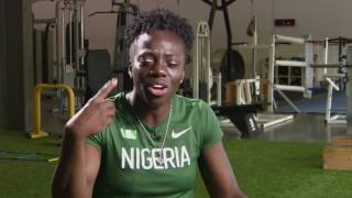 Former UH track star competes for Nigeria's bobsled team