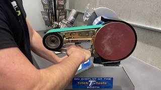 How to Change the Belt on your Multitool Belt Grinder