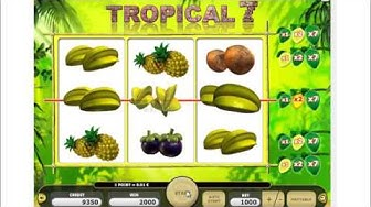 Play Free Slot Tropical 7 Online
