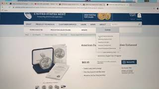 HOW I GOT THE COIN! American Eagle Silver Enhanced Reverse Proof.