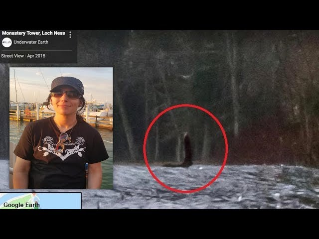 Ohio Woman Spotted Loch Ness Monster On Google Earth