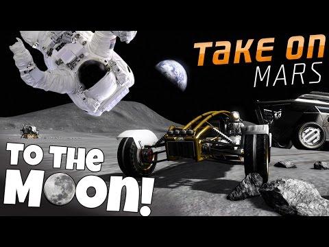 Take on Mars - NASA Simulator - Manned Moon Mision - Lunar proving ground