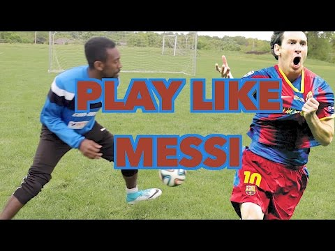 HOW TO PLAY LIKE MESSI - TOP 5 DRILLS TO DRIBBLE LIKE MESSI