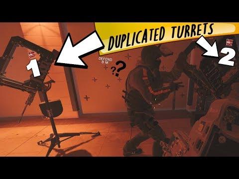 Duplicated Turrets - Rainbow Six Siege (Operation Health Funtage)