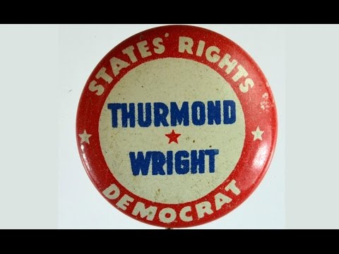 Ousting the Dixiecrats: The Realignment of the Democratic Party in the 20th Century