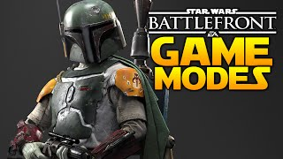 Star Wars Battlefront 10 Game Modes Announced! Instant Action & Hero Assault Back?