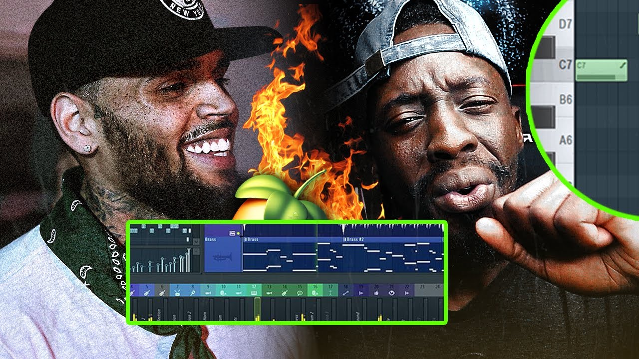 Making FIRE R&B Beats for Chris Brown & Young Thug! (Slime & B) From Scratch| FL Studio
